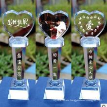 Trofeo Crystal Glass - Grabado gratuito