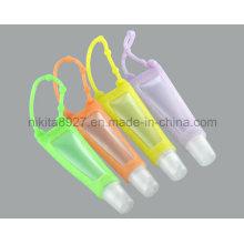 Titular de garrafa de desinfetante de mão de silicone (NTR09)