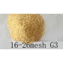 Ar desidratado grânulo de alho 16-26mesh sabor forte G3