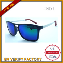 F14221 China Manufacturer Unisex Glassic Sunglasses 2015