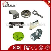 Maßgeschneiderte verschiedene Material Kunststoff / Metall / Edelstahl CNC-Bearbeitung Teile, CNC-Drehteile, CNC-Frästeile