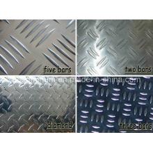 China-Lieferanten-Aluminium-Laufflächenplatte mit verschiedenen Größen
