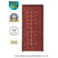 Porte en MDF étanche à l'eau de style classique pour intérieur avec bois massif (xcl-831)