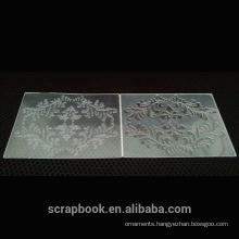 2015 hangzhou yiwu hot wholesale product embossing folder for scrapbooking