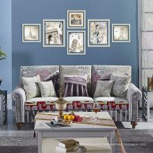 Confortável, moderno, barato, sofá, jogo