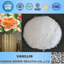 reliable supplier phamaceutical intermediates vanillin daily flavor professional
