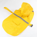 New Style Pet Raincoat Dog Raincoat Reflective Waterproof Snow-Proof Big Dog Clothes
