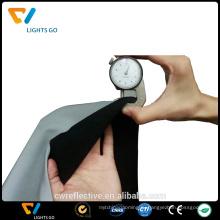 светоотражающая ткань хлопок серебряный серый цвет высокая свет рефлекса растяжения ткани