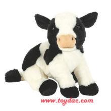Felpa de peluche de vaca ternero
