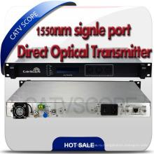 Прямо-модулированный волоконно-оптический передатчик CATV 1550нм