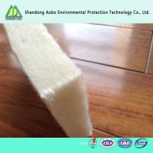 Fieltro no tejido respetuoso del medio ambiente de la fuente de la fábrica de China para el colchón y el sofá