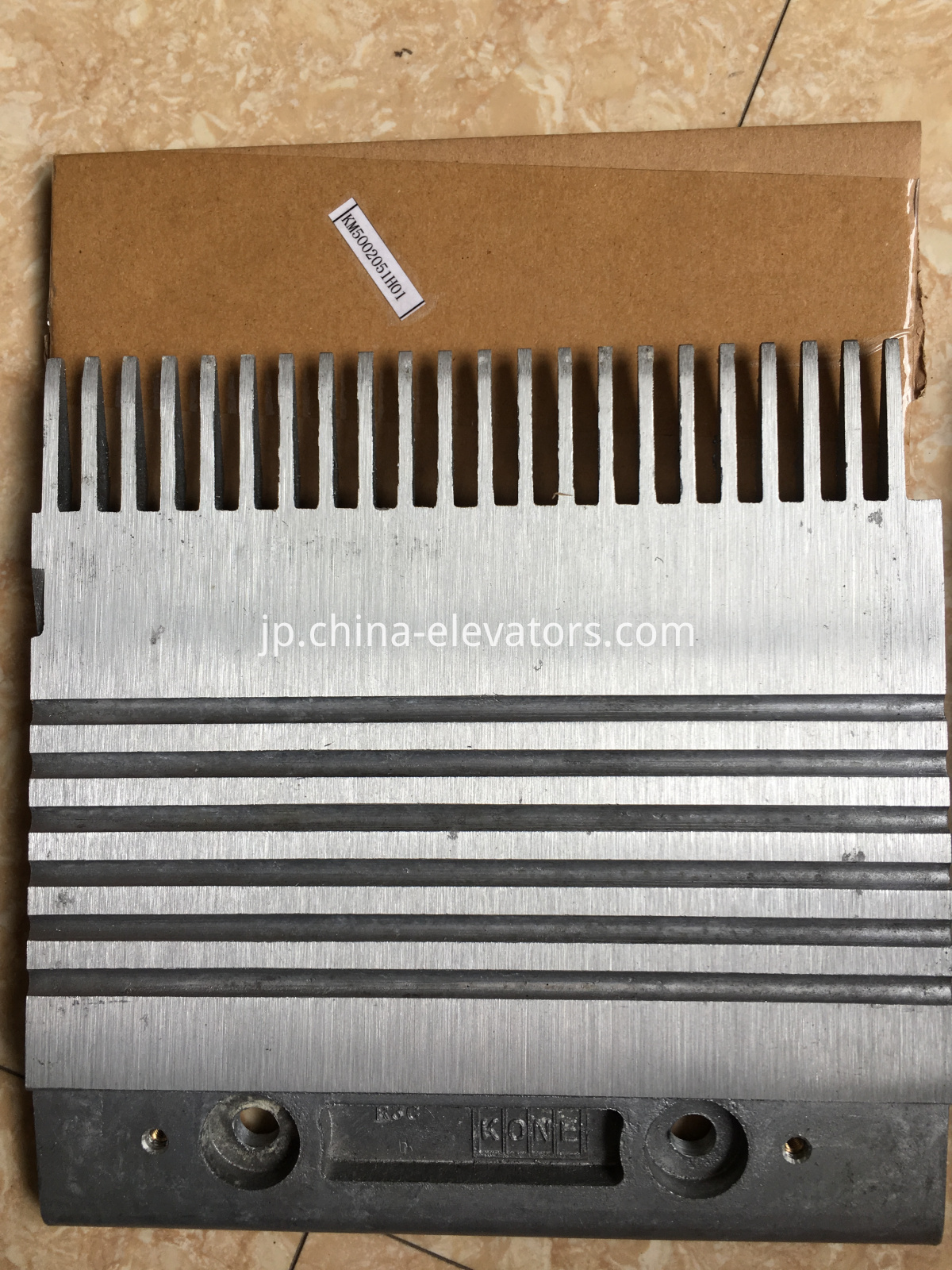 R3C Aluminium Alloy Combs for KONE Escalators, Right