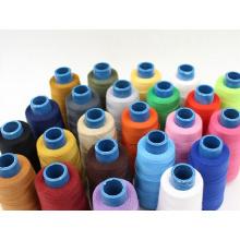Baumwollgesponnenes Polyester-Stickgarn