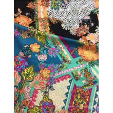 Rayon Satin 60S Printing Woven Fabric