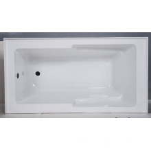Banheira integrada contornada quadrada banheira do avental de Upc
