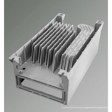 Piezas de aluminio de fundición a presión Radiador de fundición