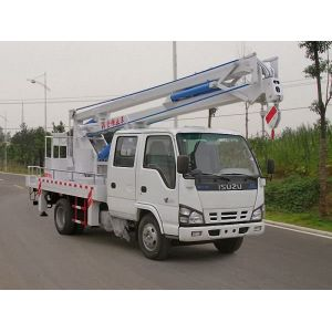 2018 new ISUZU 4x4 best aerial cherry picker