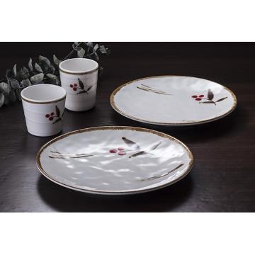 "Vajilla de melamina 100% 7 ""/ placa redonda de melamina / plato de cena (JB13807-07)"