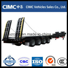 Cimc 4 Achsen 70 Ton Tiefbett Anhänger