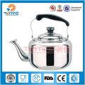 Tetera de té árabe del acero inoxidable 1L-4L, tetera al por mayor, caldera de cocinar industrial