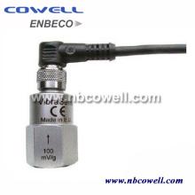 Capteur de micro-vibration différentiel de proximité inductive