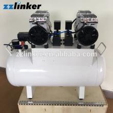 ЛК-В23 высокое качество Тихая безмасляные Стоматологическая compresor воздуха 60л 1090W