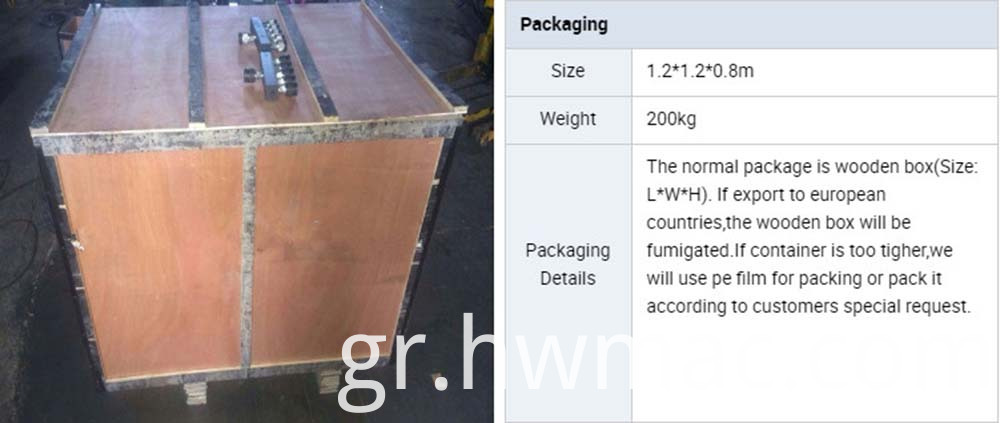 concrete polishing machine packing