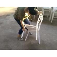 événements de mariage chiavari chaise en plastique moderne en gros