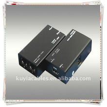 HDMI-CAT-HDMI Extender cat-5E oder cat-6 (empfohlen) Kabel bis zu 60 Meter anstelle von HDMI-Kabel zur Übertragung von High-Definition-Si