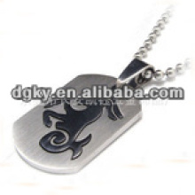 Zodiac mascot stainless steel no radiation pendant