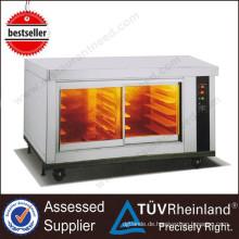 Bäckerei-Ausrüstungs-Edelstahl-10 Behälter elektrischer Konvektion-Ofen mit Proofer