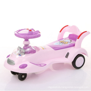 2017 New Children Baby Kids Twist Car Swing Car Wiggle Car