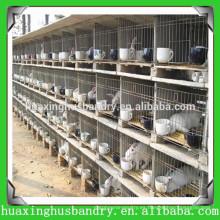 2014 Nueva jaula del conejo del funcionamiento de la promoción de la promoción del año en granja de Kenia