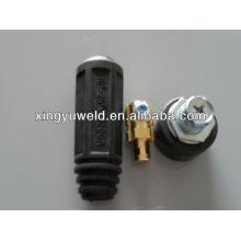 Euro conector / cable de soldadura conector de unión
