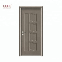Простой Дизайн МДФ Деревянная Ванная Двери Двери Шпон