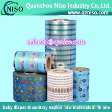 Rohstoff-pp. Baby-Windel-Frontalband vom China-Hersteller