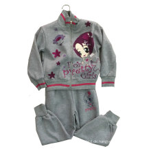 Mode Mädchen Fleece-Anzug in Kinderkleidung Sportbekleidung (SWG-118)