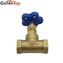 Precios baratos de GutenTop válvula de parada del martillo de la bola de la asamblea de cobre amarillo de la pulgada 1/2 PPR para la instalación de la tubería de agua