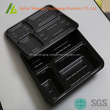 Take away microwave plastic rectangle food box