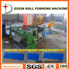Dx Ridge Tile Sheet Making Machine / Punching Machine / Máquina de corte