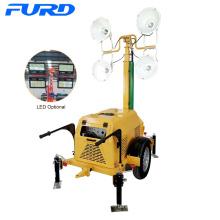 Torre de luz LED móvil de 400W * 4 7m (FZMT-1000B)
