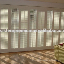 Beautiful Window Louver Plantation wood Basswood Timber Shutters