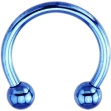 14 калибровочных синий электро титана подкова