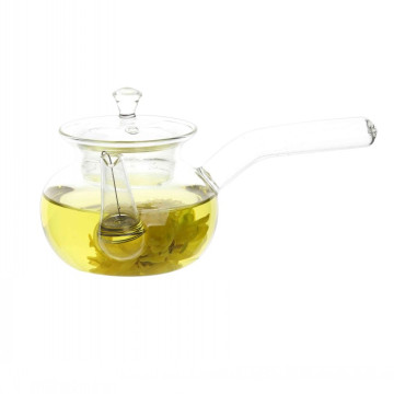 Small Glass Teapot With Remove Infuser