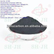 Carbón activado para glucosa decolorante madera carbón activado