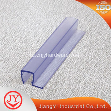 Bathroom magnetic shower glass door seal