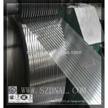 Tira de alumínio fino 30mm 35mm 40m 45mm 50mm 55mm largura 60mm