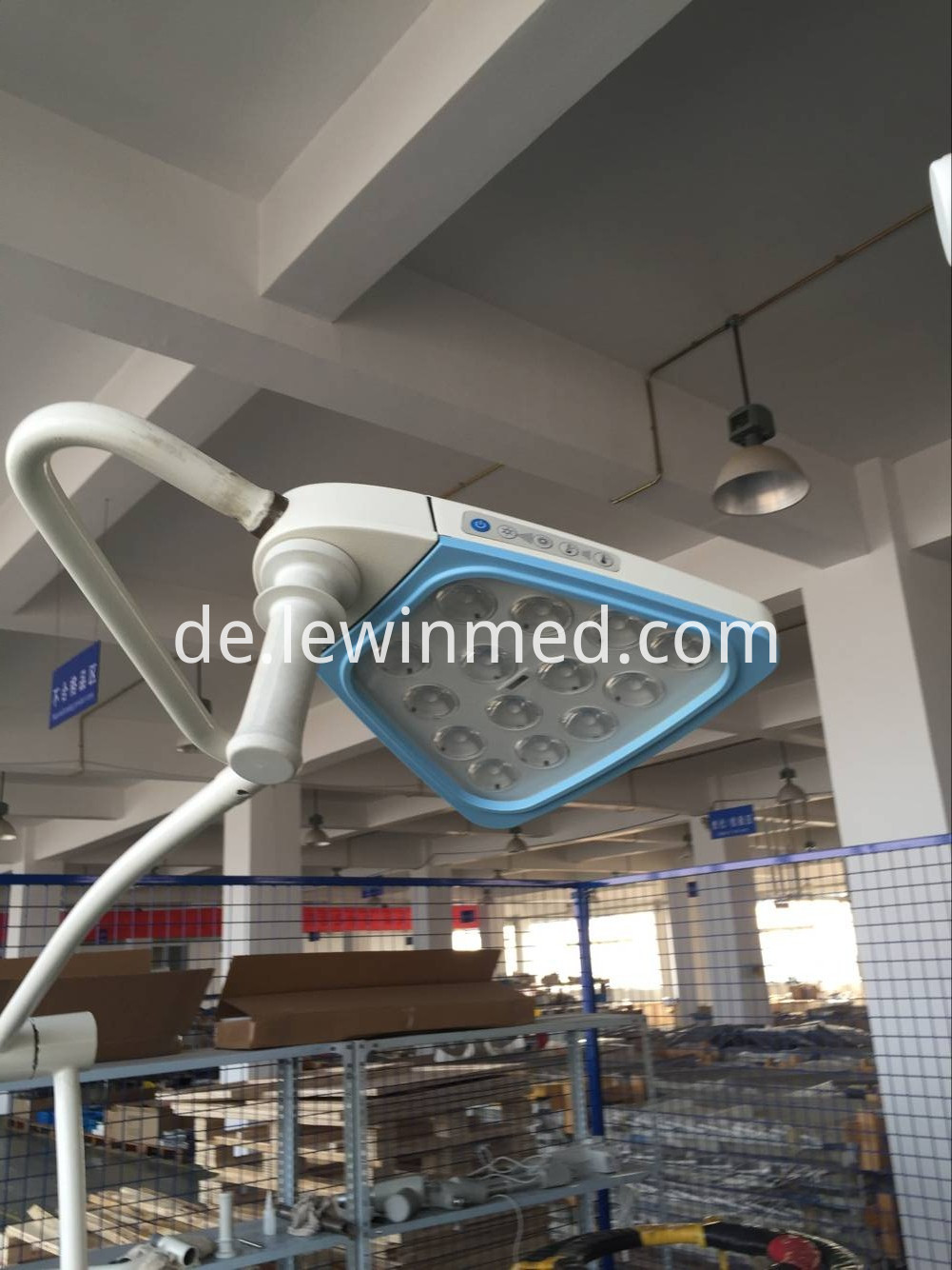 Surgical device examination light