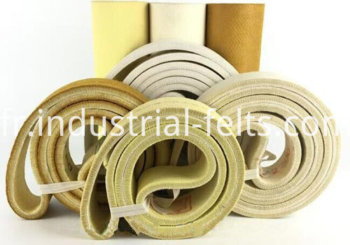 Needle Punched Felt Belts For Aluminium Extrusion Line
