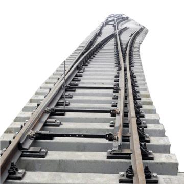 Railway railroad train rail track switch turnout